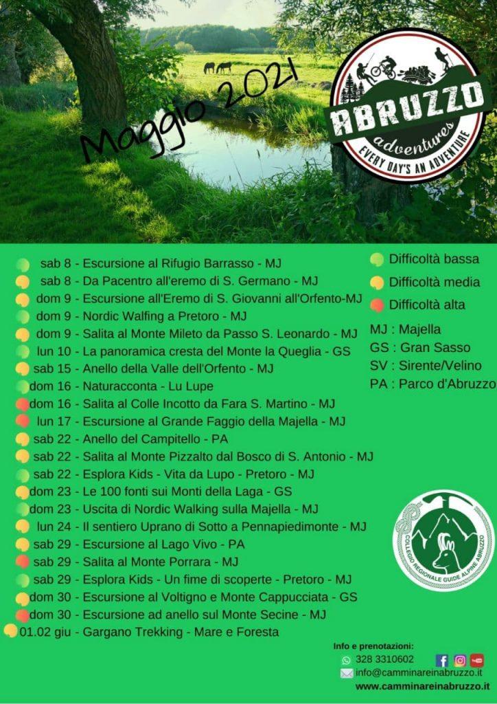 Calendario Trekking 03-2021